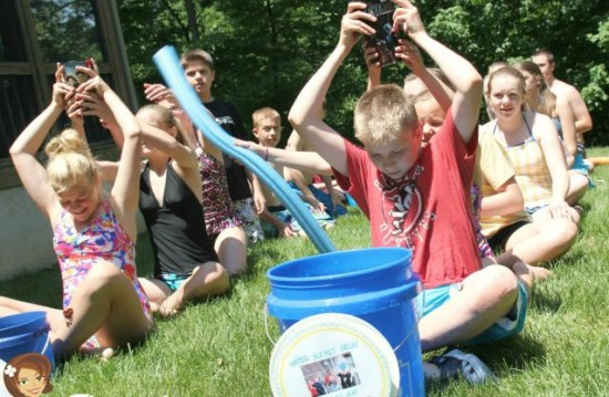 Water bucket relay