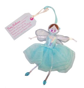 Fair Trade Fairies- Fairy blue ballerina