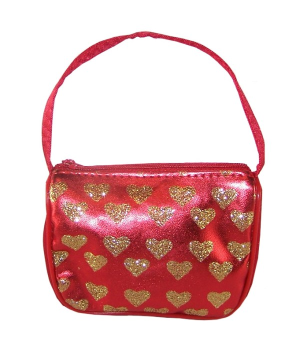 Girls heart purse-2969