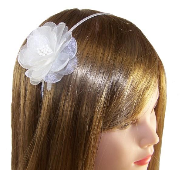 Girls ivory satin flower girl bridesmaid ballerinas and bag -4388
