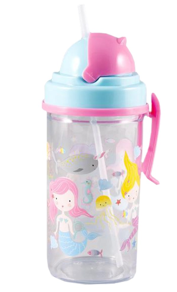 Mermaid water bottle-0