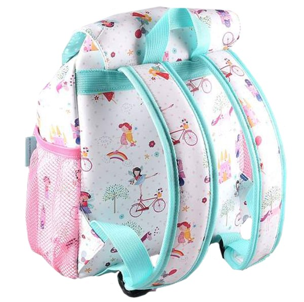 Girls Unicorn and Fairies PVC backpack-4746