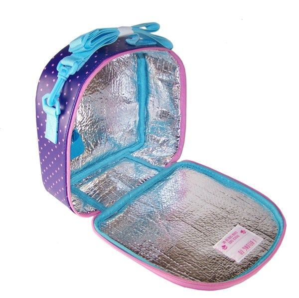 Childrens blue pets insulated lunch bag-5791