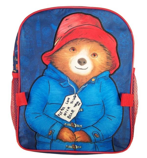 Paddington Bear blue back pack with detachable lunch bag-5880