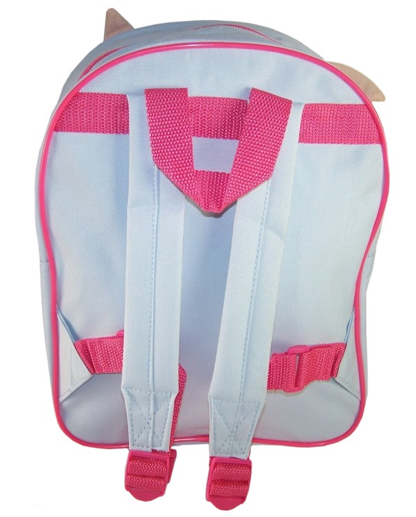 Childs Peter Rabbit Lily pale blue and pink backpack -5875