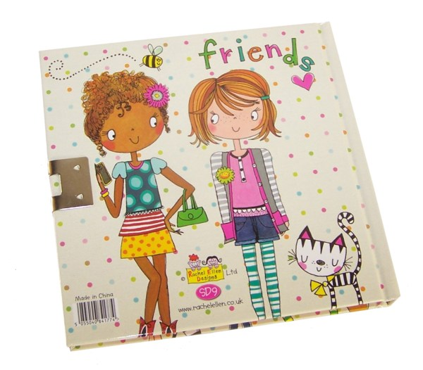 Girls lockable friends secret diary -6043