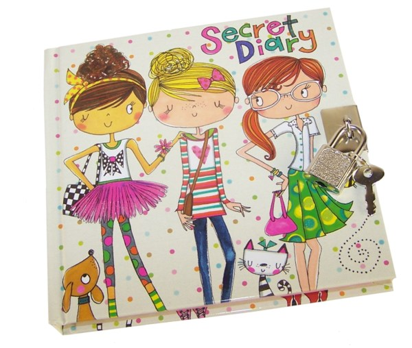 Girls lockable friends secret diary -6045