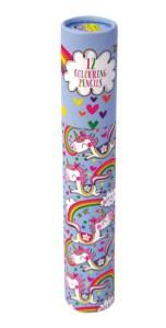 Unicorn colouring pencil set