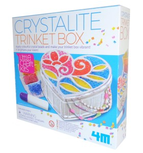 Childs crystalite trinket box craft kit