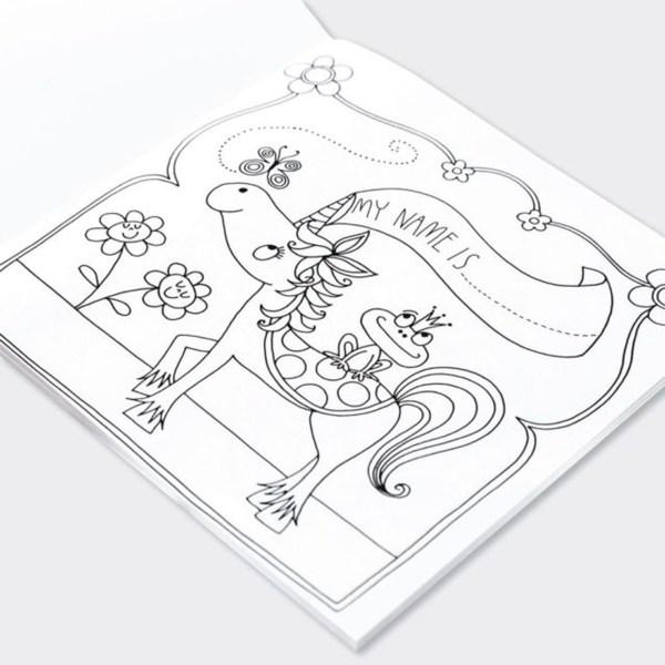 Princess Colouring Book-6581