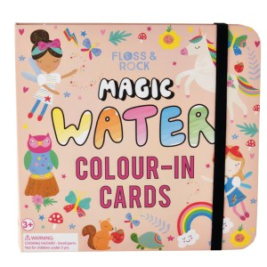 Childrens magic colour changing water cards