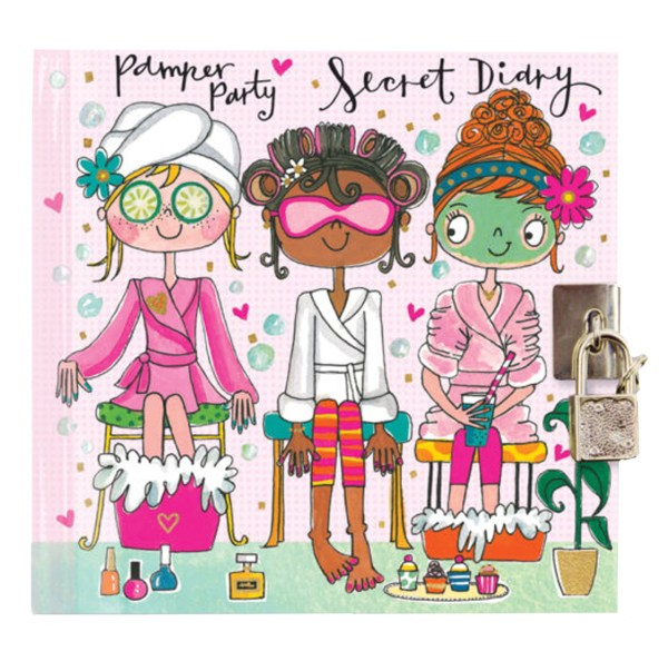 Girls pamper secret diary