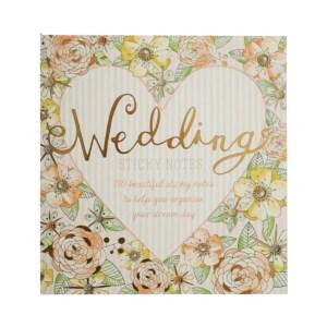 Wedding sticky notes