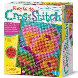 Children's Cross Stitch Craft Set