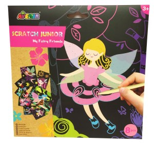 Younger children's fairies magical scratch boards