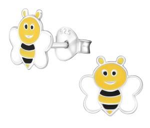 Girls Bee 925 sterling silver stud earrings