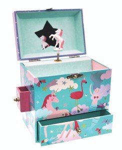 Girls Magical Fantasy Musical Jewellery Box with Drawers