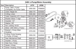 JACUZZI SPA SEAL ASSEMBLY, MECHANICAL SHAFT, 625 DIAMETER (JPUMP) | The Spa Works