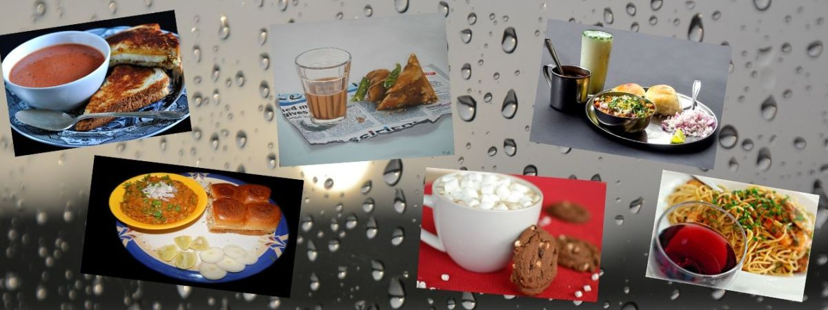 Cover Image of Blog - Classic Monsoon Food Combinations