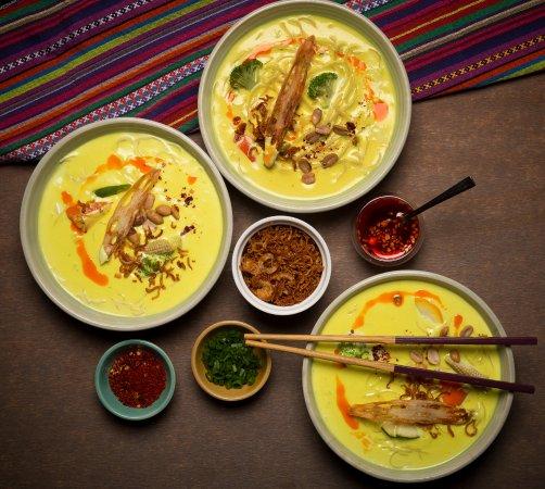 Food at Burma Burma