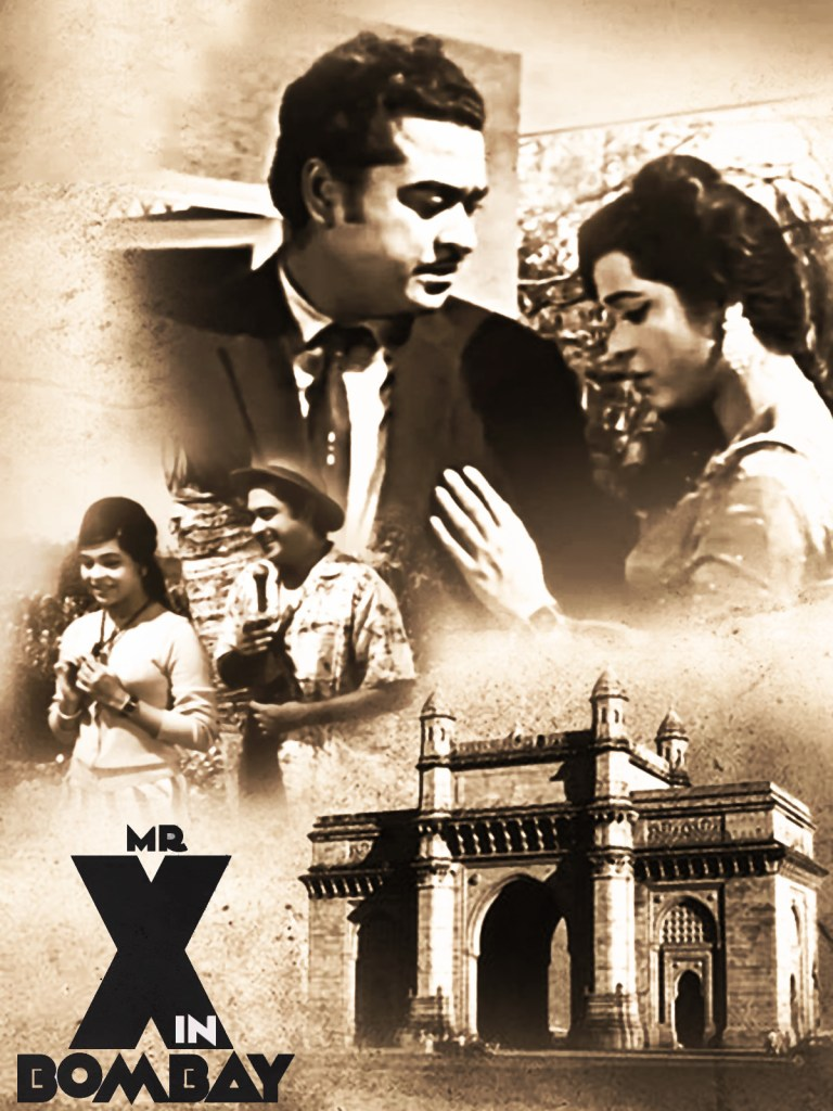 Mr. X in Bombay Black and White Poster