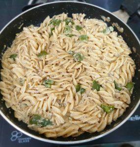 White Sauce Pasta Recipe at Home