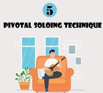 Guitar Arpeggio Pivotal Soloing Technique