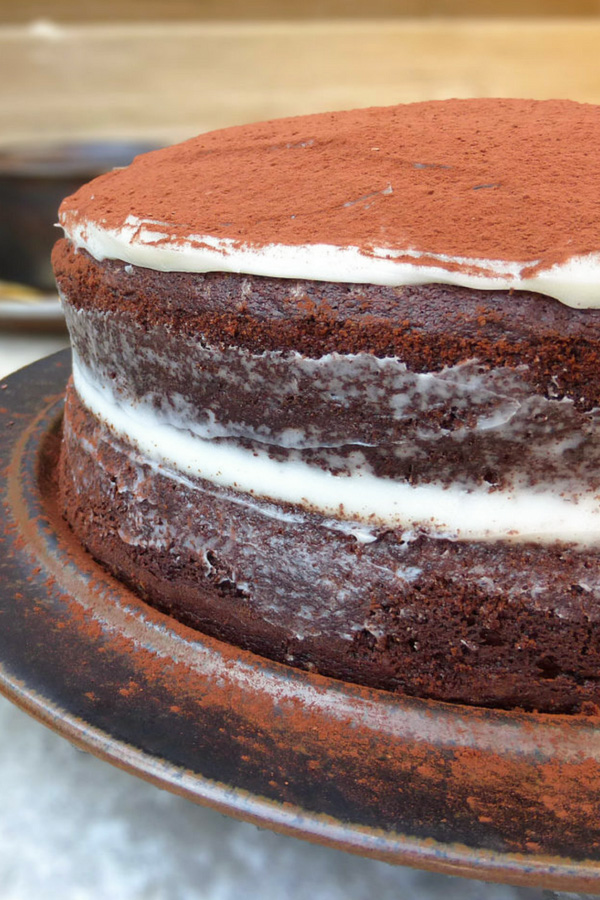 picture of a chocolate cake