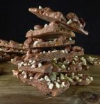 picture of homemade chocolate bark