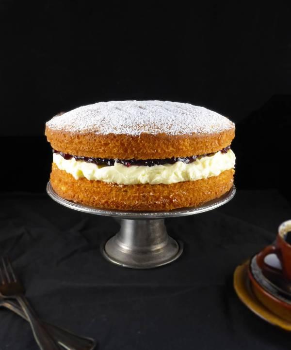 Spelt Victoria Sandwich Cake