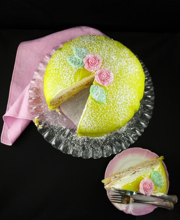 Swedish Princess Cake (Princesstårta)