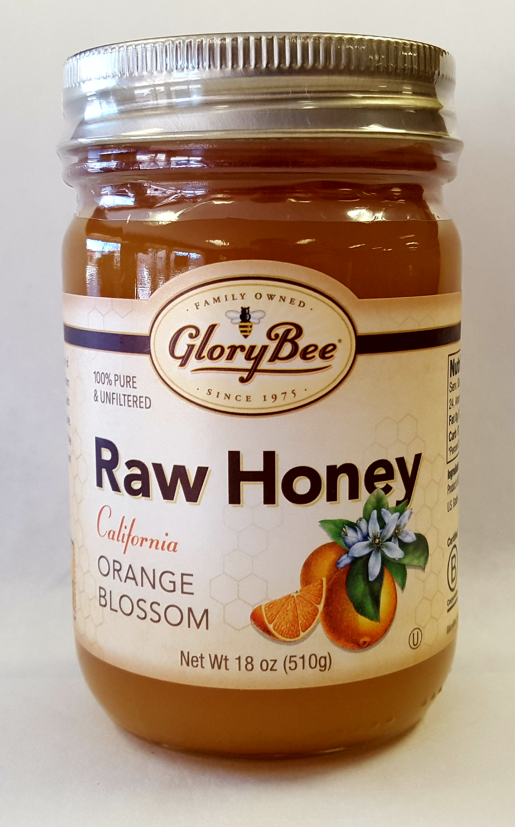 Raw California Orange Blossom Honey