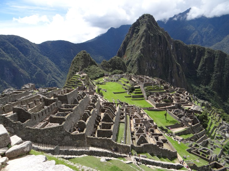 That famous shot of Machu Picchu, Peru