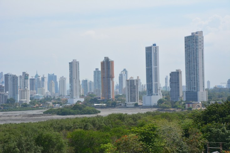 View from Old Panama City