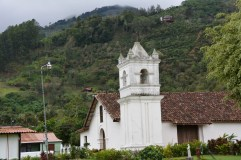 Orosi town church