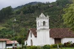 Orosi town church