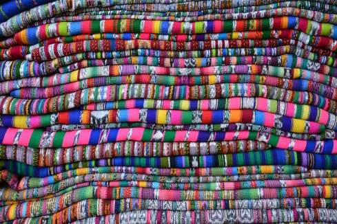 Multitude of cloths