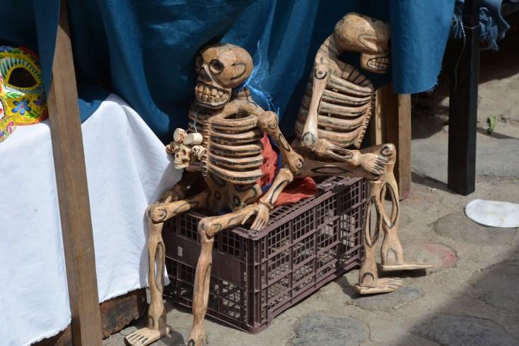 Skeletons having a rest