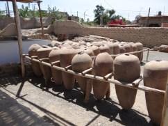 Amphoras for pisco