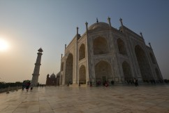 Sunkissed Taj