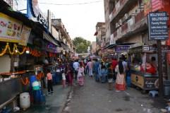 Agra market scene