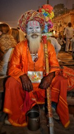 Regular Sadhu at the ghats