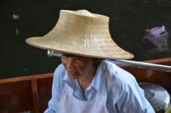 Seller at the floating market