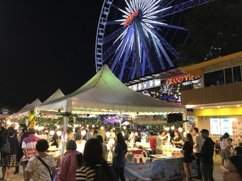 Feris wheel at Asiatique