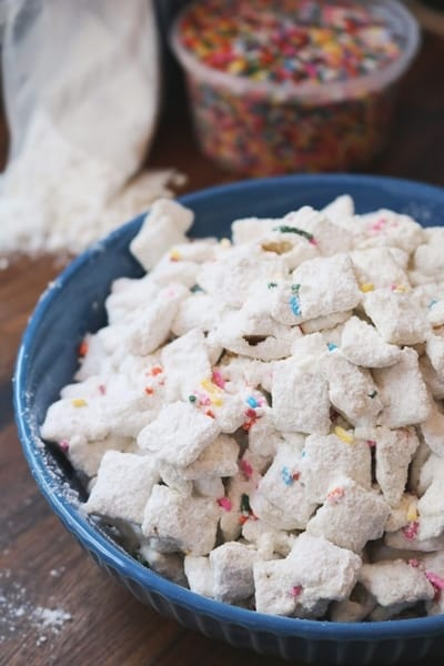 Cake Batter Puppy Chow 3