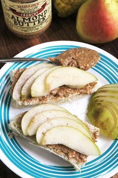 Almond-Pear Panino