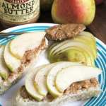 Almond Butter Pear Toast