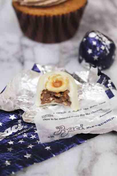White Chocolate Baci
