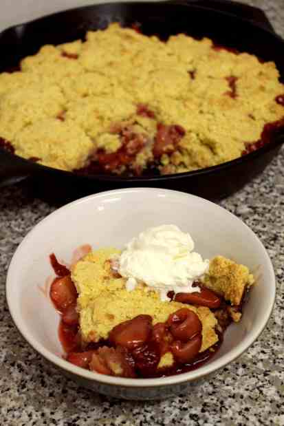Strawberry Shortcake Cobbler