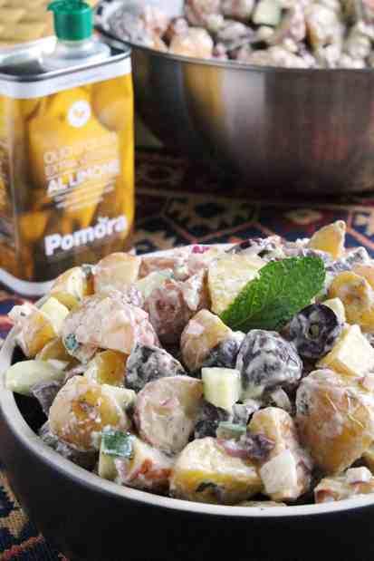 Creamy Lemon Mediterranean Potato Salad 4